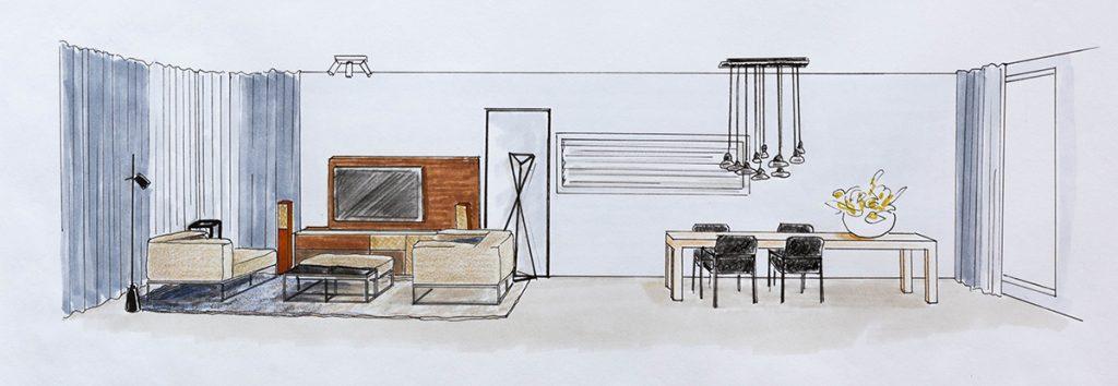 Muuraanzicht Italiaans Design Interieur Leiden