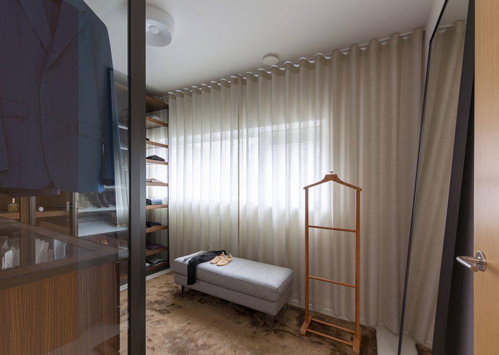 Walk in closet entree Italiaans Design  interieurplan Nieuw Leiden