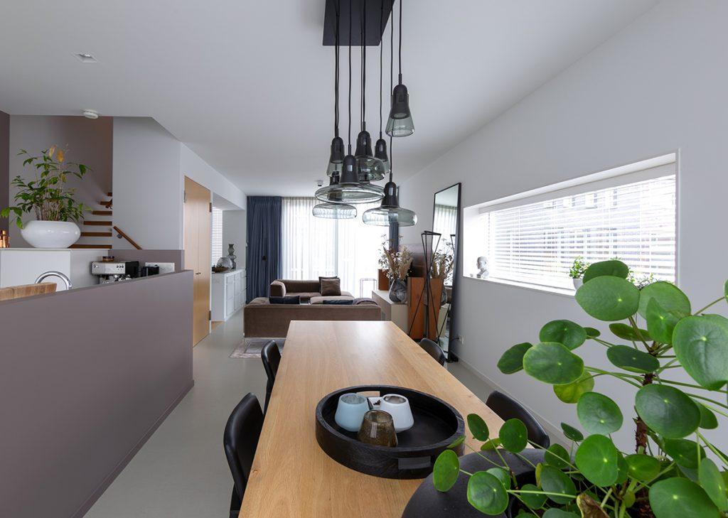Eethoek interieurplan Italiaans Design  Nieuw Leiden