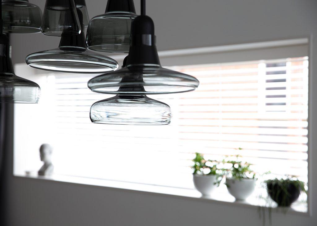 Detail Brokis lamp Italiaans Design interieurplan Nieuw Leiden